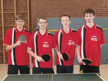 trinkgut sponsort Tischtennisabteilung des TKJ Sarsted