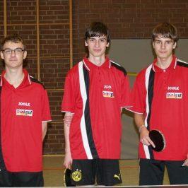 Trinkgut Sarstedt sponsort 2. Tischtennisjugend TKJ Sarstedt