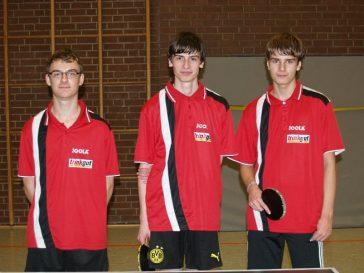 Trinkgut Sarstedt sponsort die 2. Tischtennisjugend des TKJ Sarstedt